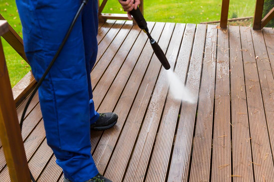 Cleaning Deck